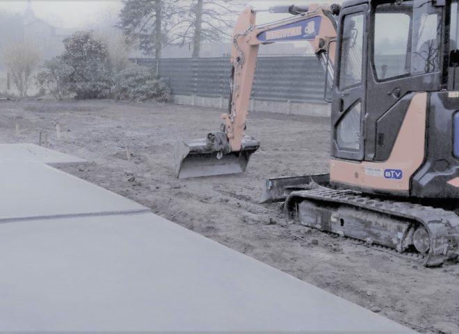 vloerplaat, beton, tuinberging, strak, modern